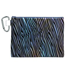 Abstract Background Wallpaper Canvas Cosmetic Bag (xl) by Nexatart