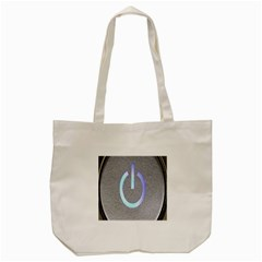 Close Up Of A Power Button Tote Bag (cream) by Nexatart