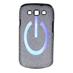 Close Up Of A Power Button Samsung Galaxy S Iii Classic Hardshell Case (pc+silicone) by Nexatart