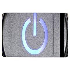 Close Up Of A Power Button Ipad Air Flip by Nexatart