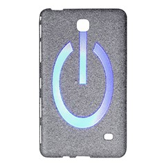 Close Up Of A Power Button Samsung Galaxy Tab 4 (7 ) Hardshell Case  by Nexatart