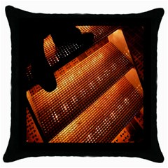 Magic Steps Stair With Light In The Dark Throw Pillow Case (Black)