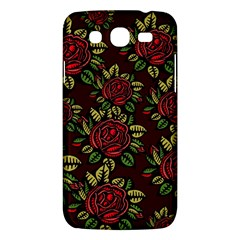 A Red Rose Tiling Pattern Samsung Galaxy Mega 5 8 I9152 Hardshell Case  by Nexatart