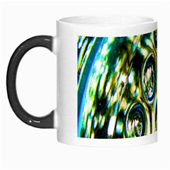 Dark Abstract Bubbles Morph Mugs by Nexatart