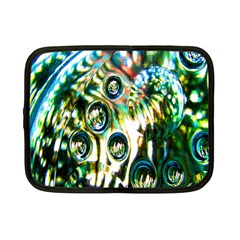 Dark Abstract Bubbles Netbook Case (small)  by Nexatart