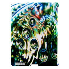 Dark Abstract Bubbles Apple Ipad 3/4 Hardshell Case (compatible With Smart Cover) by Nexatart