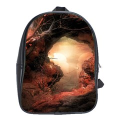 3d Illustration Of A Mysterious Place School Bags(large)  by Nexatart