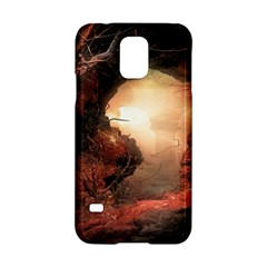3d Illustration Of A Mysterious Place Samsung Galaxy S5 Hardshell Case  by Nexatart