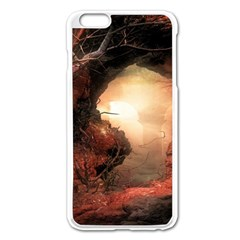 3d Illustration Of A Mysterious Place Apple Iphone 6 Plus/6s Plus Enamel White Case by Nexatart