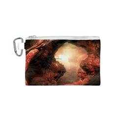 3d Illustration Of A Mysterious Place Canvas Cosmetic Bag (s)