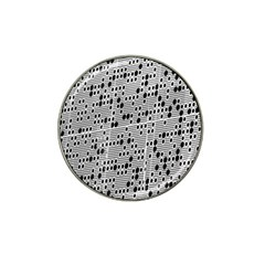 Metal Background With Round Holes Hat Clip Ball Marker (10 Pack) by Nexatart