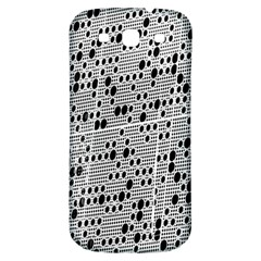 Metal Background With Round Holes Samsung Galaxy S3 S Iii Classic Hardshell Back Case by Nexatart