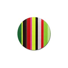 Stripe Background Golf Ball Marker (10 Pack) by Nexatart