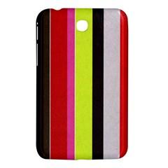 Stripe Background Samsung Galaxy Tab 3 (7 ) P3200 Hardshell Case  by Nexatart
