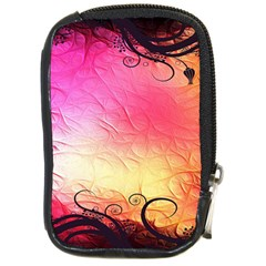 Floral Frame Surrealistic Compact Camera Cases by Nexatart