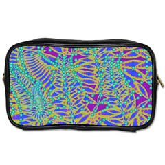 Abstract Floral Background Toiletries Bags 2 Side by Nexatart