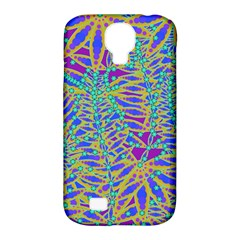 Abstract Floral Background Samsung Galaxy S4 Classic Hardshell Case (pc+silicone) by Nexatart