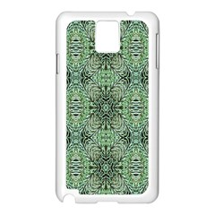 Seamless Abstraction Wallpaper Digital Computer Graphic Samsung Galaxy Note 3 N9005 Case (white) by Nexatart