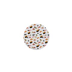 Sushi Lover 1  Mini Buttons by tarastyle