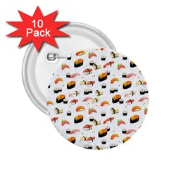 Sushi Lover 2 25  Buttons (10 Pack)  by tarastyle