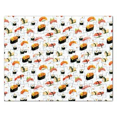 Sushi Lover Rectangular Jigsaw Puzzl by tarastyle