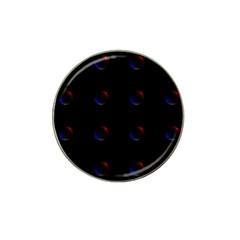 Tranquil Abstract Pattern Hat Clip Ball Marker (4 Pack) by Nexatart