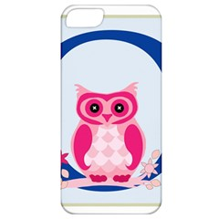 Alphabet Letter O With Owl Illustration Ideal For Teaching Kids Apple Iphone 5 Classic Hardshell Case by Nexatart