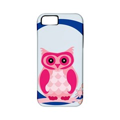 Alphabet Letter O With Owl Illustration Ideal For Teaching Kids Apple iPhone 5 Classic Hardshell Case (PC+Silicone)