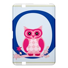 Alphabet Letter O With Owl Illustration Ideal For Teaching Kids Kindle Fire Hd 8 9  by Nexatart