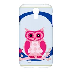 Alphabet Letter O With Owl Illustration Ideal For Teaching Kids Samsung Galaxy S4 I9500/i9505 Hardshell Case by Nexatart