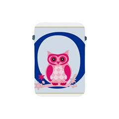 Alphabet Letter O With Owl Illustration Ideal For Teaching Kids Apple Ipad Mini Protective Soft Cases by Nexatart