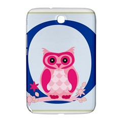 Alphabet Letter O With Owl Illustration Ideal For Teaching Kids Samsung Galaxy Note 8 0 N5100 Hardshell Case  by Nexatart