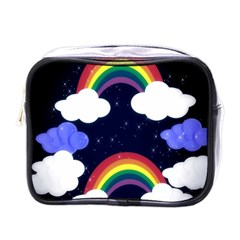 Rainbow Animation Mini Toiletries Bags by Nexatart