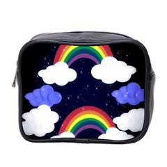 Rainbow Animation Mini Toiletries Bag 2 Side by Nexatart