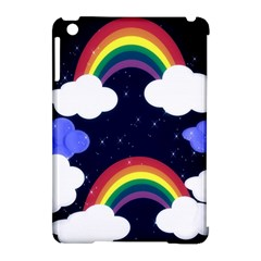 Rainbow Animation Apple Ipad Mini Hardshell Case (compatible With Smart Cover) by Nexatart