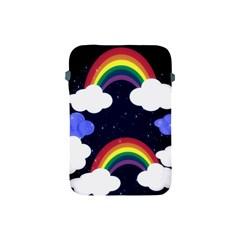 Rainbow Animation Apple Ipad Mini Protective Soft Cases by Nexatart