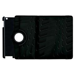 Abstract Clutter Apple Ipad 3/4 Flip 360 Case by Nexatart