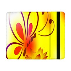 Butterfly Background Wallpaper Texture Samsung Galaxy Tab Pro 8 4  Flip Case