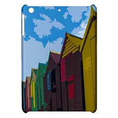 Brightly Colored Dressing Huts Apple Ipad Mini Hardshell Case by Nexatart