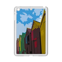 Brightly Colored Dressing Huts Ipad Mini 2 Enamel Coated Cases by Nexatart