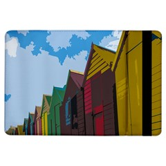 Brightly Colored Dressing Huts Ipad Air Flip by Nexatart