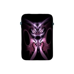 Angry Mantis Fractal In Shades Of Purple Apple Ipad Mini Protective Soft Cases by Nexatart