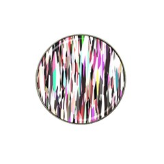Randomized Colors Background Wallpaper Hat Clip Ball Marker by Nexatart
