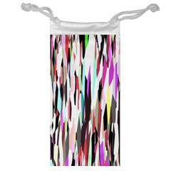 Randomized Colors Background Wallpaper Jewelry Bag