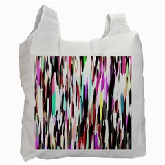 Randomized Colors Background Wallpaper Recycle Bag (one Side) by Nexatart