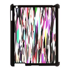 Randomized Colors Background Wallpaper Apple Ipad 3/4 Case (black) by Nexatart