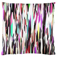 Randomized Colors Background Wallpaper Large Flano Cushion Case (two Sides) by Nexatart