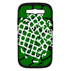 Abstract Clutter Samsung Galaxy S Iii Hardshell Case (pc+silicone) by Nexatart