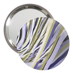 Wavy Ribbons Background Wallpaper 3  Handbag Mirrors by Nexatart