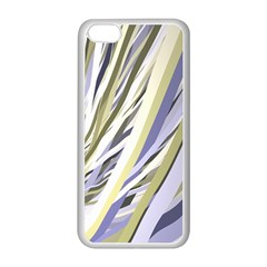 Wavy Ribbons Background Wallpaper Apple Iphone 5c Seamless Case (white) by Nexatart